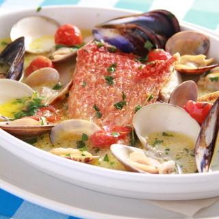 産地直送の新鮮な食材を使ってお届けする魚介料理!