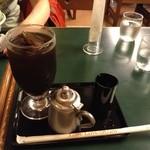 甘味処 彦いち - H25/8/30 アイスコーヒー 420円