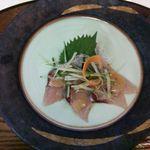カフェ リトルキッチン ハヤマ - 魚のカルパッチョ