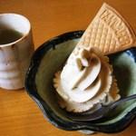 20953761 - 蕎麦ソフトクリーム200円