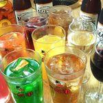焼肉六甲 - ビール・チューハイ各種の他ワイン・ウイスキー・日本酒・ソフトドリンク・カクテルも充実してます!