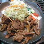 泰将 - 焼肉ランチ(アップ)