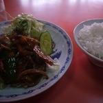 八海 - 料理写真:スタミナ定食