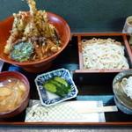 そば処 高山 - 天丼とミニ蕎麦をセットで♪