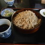 明治屋蕎麦店 - ざる蕎麦¥900