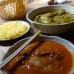 スーリヤフジノ - 料理写真:ネパールカレー