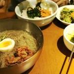からくに家 - 冷麺&ビビンバ・セット