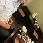 魚山亭 渋谷店 - JIROCK氏は魚山亭定食をチョイス(2013.08)