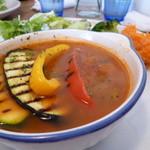 カフェ ぼあこ - 夏野菜のミネストローネです