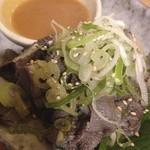 杉田もつ肉店 - センマイ刺 @¥300−2013.8