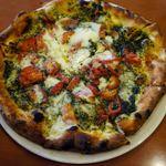 Pizzeria da Ciruzzo - 細君は、ミックスピザ