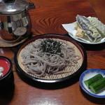 ばんない - 料理写真:ざるそば(700円)