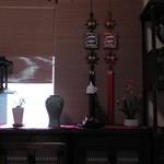 平野屋 - 座敷席奥の窓際