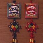 平野屋 - 色鮮やかな壁飾り