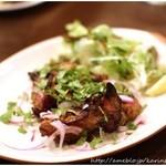 アンジュナ - 豚肉のマサラタンドール焼き