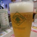 はらっぱ - 満席の店内、ビール注文は自分だけ・・・・