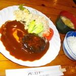 アビーロード - 料理写真:ハンバーグ定食