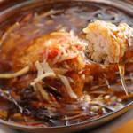 蜀楽苑 - 料理写真:ふかひれあんかけチャーハン