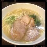 らーめん紬麦 - 塩らーめん 750円  2013.08