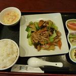 20969775 - 豚と野菜の炒め物ランチ