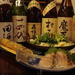 楽膳 - 御料理に合う地酒・焼酎をご用意