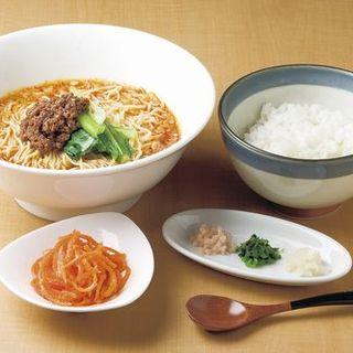 2度美味しい坦々麺錦城スタイル!【坦々麺スープ茶漬けセット】