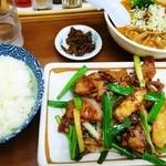かえん - レバニラ(定食)