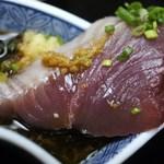 やなぎ寿司 - かつおアップ