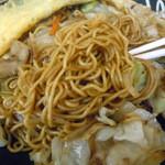 虎之介 - 「オムのせ焼そば」麺
