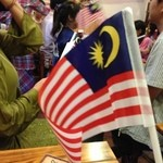 ペナンレストラン - マレーシア独立の歌