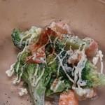 20976043 - エビとブロッコリーのサラダ。