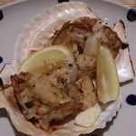 20976051 - ホタテ貝のバター焼き。