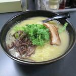 麺や ぼんず - 鶏白湯塩らー麺(大)750円