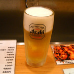 20979456 - 生ビール480円、サワーもホッピーも480円・・・