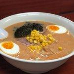 Maruichi - まるいちスペシャルみそ味:チャーシュー、メンマ、半熟卵、のり、にんにく入りです。