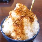 うふだき荘 - 料理写真:氷ぜんざい