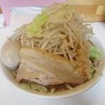 麺屋 にぼすけ - ・限定メニュー「にぼじろう 平日大盛無料(\780)」