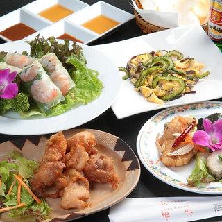 アジア各国本場の味を堪能◇記念日におすすめな特別コースも!