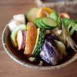いち - 石臼挽き 蕎麦「いち」 揚げ野菜のおろしぞば
