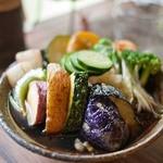 いち - 石臼挽き 蕎麦「いち」 揚げ野菜のおろしそば