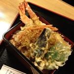 てんしん - 大海老天重(1,000円)2013年8月