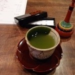 横浜 野田岩 - お茶