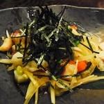 江戸や鮨八 - 2013年8月 タコのねぎネギ葱サラダ