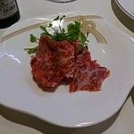 尾乃道 - 牛肉のたたき