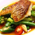 restaurant t.r - 本日のお魚料理 ~季節のスタイルで~