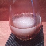 昌平 - 初めからグラス底に氷