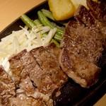 Yayoiken - ビーフステーキ定食