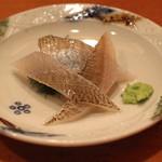 神楽坂寿司幸 - 昆布〆の鱚