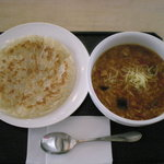 2099571 - ラタトゥイユ・リゾット風スープカリー &チャパティ