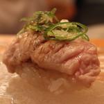 神楽坂寿司幸 - 炙りトロ